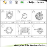 Profils en aluminium/radiateur/radiateur éclairage d'extrusion pour le matériau de construction