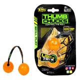 2017 tiradas calientes del pulgar del juguete LED del yoyo de la persona agitada