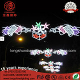 Angelo IP65 della stella del LED Holliday esterno attraverso l'indicatore luminoso di natale del Palo della via per la decorazione