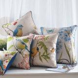 La tela di lusso del cotone scherza i cuscini di manovella per il salone