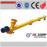 Type de tube souple convoyeur de vis dans l'industrie minière