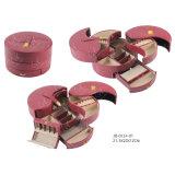 Cassa cosmetica della casella di bellezza del contenitore di monili di caso di Tewelry di corsa per la promozione