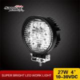 Luz del trabajo de la dimensión de una variable redonda 4inch 27watt LED para campo a través