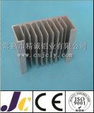Perfil de alumínio da extrusão do dissipador de calor com fazer à máquina do CNC (JC-P-80039)