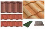 Tuiles de toit en pierre colorées en métal/tuile de toiture Pierre-Enduite en métal