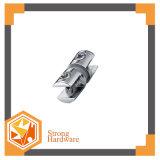 Bride en verre de zinc de pipe ronde de tube de pièce de douche