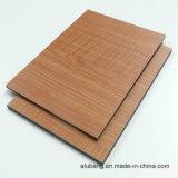 우드 그레인 알루미늄 복합 패널 (ALB-014)