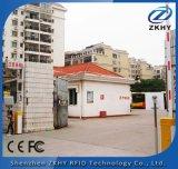 Lector de tarjetas de 12dBi TCP Largo Alcance / IP UHF RFID para coches Aparcamiento