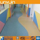 롤 PVC 마루, UV 처리, 방수 비닐 지면