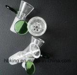 Tazón de fuente embriagador que fuma Dogo 14 milímetros tazón de fuente de cristal común de 18 milímetros para las plataformas petroleras de cristal del clavo del vidrio del colector del pelele y de la ceniza del tubo que fuman que fuma