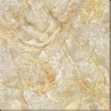 Mattonelle a cristallo dorate Polished della moquette del pavimento della porcellana, mattonelle lustrate