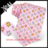 Жаккард людей изготовленный на заказ сплетенный логосом или напечатанный галстук полиэфира для школы