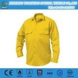 Camisas de trabajo del arco 50+ de la protección eléctrica ULTRAVIOLETA del flash