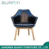 Chino silla de comedor de cuero genuino