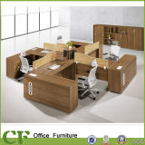 L-förmiger Büro-Möbel-Schreibtisch-Raum-Zelle-Arbeitsplatz