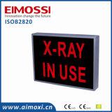 """Signe obscur signe en service de faire attention de méthode de DEL de """" rayon X """""""