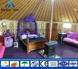 Barracas de bambu luxuosas do Mongolian da barraca de Yurt da estância turística do frame