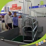 Caisse de foin réversible pour élevage de porcs