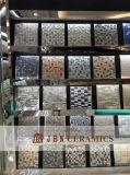 실내와 옥외를 위한 까만 색깔 도금 돌 그리고 유리 모자이크 (M855005)