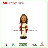 Figurine Polyresin Иисус Bobblehead для таблицы и домашнего украшения