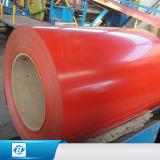 PPGIのコイルは、上塗を施してある鋼鉄コイル、Prepainted電流を通された鋼鉄コイルを着色する