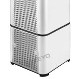 エア・クオリティセンサーが付いている白い空気清浄器
