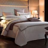 Jogos 100% do fundamento do algodão do hotel do bordado do algodão do luxo