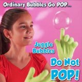 Волшебный отскакивая набор деятельности при пузырей жонглирует пузырями с перчаткой