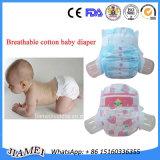 Tapes jetable PE Imprimé Backsheet PP Baby Diaper avec Leakguards
