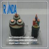 12/20KV подземные изолированные UG XLPE определяют кабель сердечника медный электрический