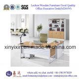 Italienische Entwurfs-Leder-Büro-Schreibtisch-moderne Büro-Möbel (L3601#)