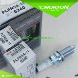 日産の点火プラグ22401-5m015 Plfr5a-11 6240の高い発電の働きのための製造所の点火プラグ