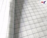 Antistatische ESD van het Geheugen van het Type van Polyester van 100% Duidelijke ImitatieStof