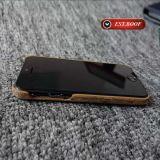 Cassa di cuoio del telefono mobile dell'unità di elaborazione della stampa per il iPhone