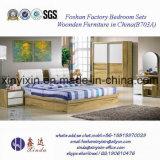 Luxushotel-Schlafzimmer-Möbel des China-hölzerne König-Size Bed (703A#)