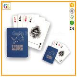Definição personalizada do cartão de jogo com caixa