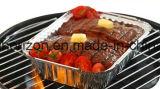Плиты алюминиевой фольги спорта для приготовленного в духовке приготовленн в духовке цыпленка