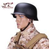 Do exército de aço alemão do CS do capacete da elite M35 da alta qualidade Ww2 capacete de segurança de aço das atividades ao ar livre do treino militar do capacete de Luftwaffe