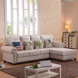 Sofá cómodo de cuero clásico de la alta calidad (UL-NSC019)