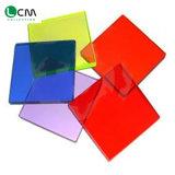 Plaque en céramique en verre d'art glacée par couleur en verre Tempered