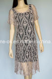 Fashion Hand Knit Crochet Party Evening Beach Club Robe de mariée