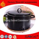 Sunboat 11qtのエナメルの在庫の鍋の/Stewの鍋かスープ鍋