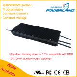 excitador atual de 400With600W 24~58.8V/constante constante programável ao ar livre do diodo emissor de luz da tensão