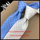 Gravata tecida da forma do Mens seda feita sob encomenda chinesa Handmade