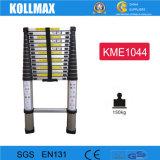 Teleskopische Seil-Aluminiumstrichleiter der Form-preiswerte kundenspezifische Sicherheits-4.4m