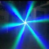 Het kleurrijke Bewegende HoofdOog van de Bij 6PCS*10W van de Straal Lichte Kleine voor Partij