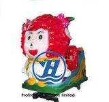 Máquina de juego de fichas del paseo del Kiddie para la venta (ZJ-KC01)