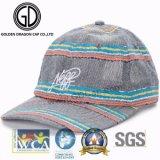 Heißes Vati-Kurven-Spitzen-Form-Denim-modischer Baseballmütze-Förderung-Vati-Hut des Verkaufs-2017