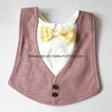 幼児の幼児男の子の女の子のよだれの熱狂の胸当てのBowtieのタキシードの弓首のタイのげっぷの布の男女兼用のパックEsg10151の赤ん坊の胸当てを償いなさい