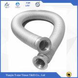 Tubo flessibile Braided dell'acciaio inossidabile del metallo ondulato ad alta pressione di Flexibel